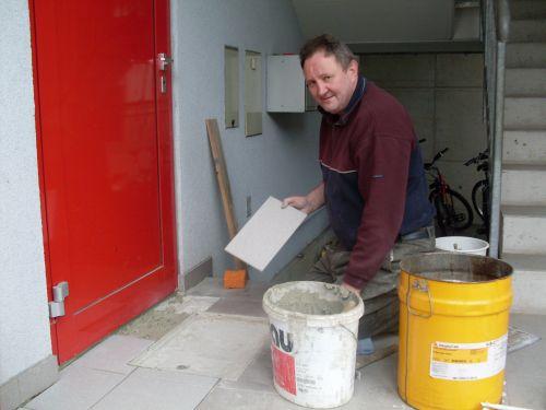 081115 – Reparaturarbeiten/Wasserschaden