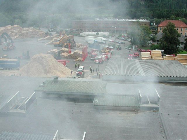 100816 – Brandeinsatz Sägewerk Göss