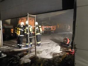 160206 – Brandeinsatz Fa. Rohrer