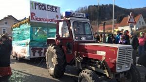 160206 – Faschingstreiben in Proleb