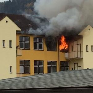 161116 – Wohnhausbrand Leoben