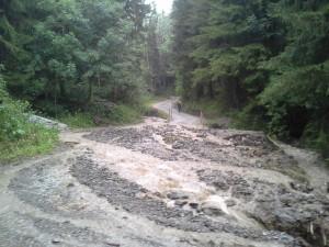170730 – Straße Prentgraben vermurrt/gesperrt